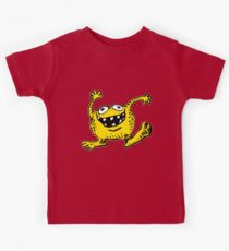 Cute Cartoon Yellow Monster by Cheerful Madness!! Kids Clothes