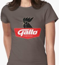 Gallo Cerveza - Best Beer In Guatemala Central America Women's Fitted T-Shirt