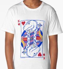 King of Hearts T. rex Long T-Shirt