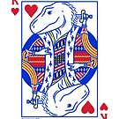 King of Hearts T. rex by David Orr