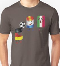 The Blockies - Germany, Austria and Italy Unisex T-Shirt