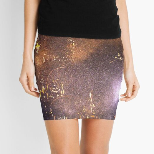 a space within Mini Skirt
