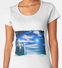 Lonely Tardis Women's Premium T-Shirt