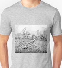 Creatures from faraway land Unisex T-Shirt