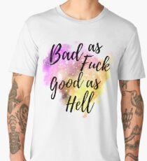 Bad As Fuck  Men's Premium T-Shirt