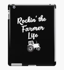 Rockin' the Farmer Life Farming Tractor iPad Case/Skin