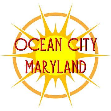 Ocean City, Maryland by Chunga