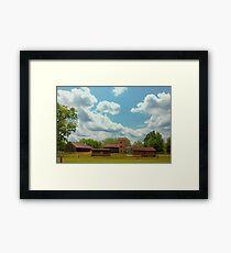Batsto Farmstead Framed Print