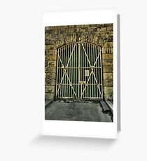 If These Doors Could Speak - HM Prison Beechworth - The HDR Experience Greeting Card