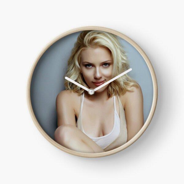 Scarlett Johansson Clock