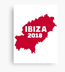 Lienzo Ibiza 2018