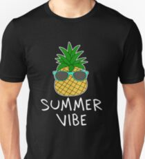Pineapple Fruit Aloha Beaches Hawaii   Surf T Shirt new Unisex T-Shirt