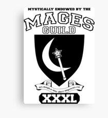Xcrawl Mages Guild Canvas Print