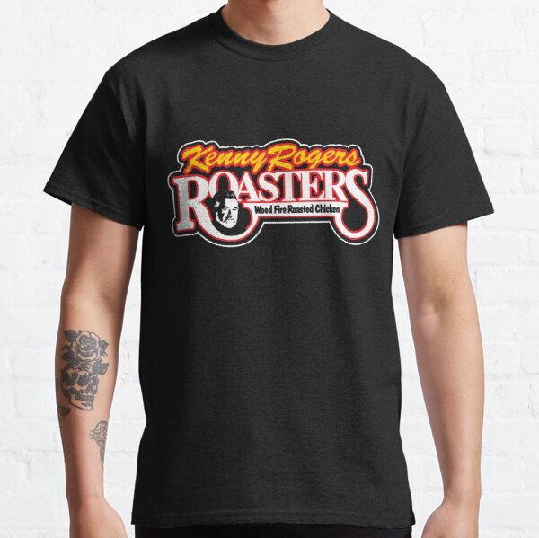 KENNY ROGERS ROASTERS T-SHIRT - Defunct Fast Food Chain Logo Classic T-Shirt