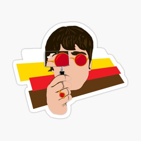 Noel Look Back In Anger Sticker