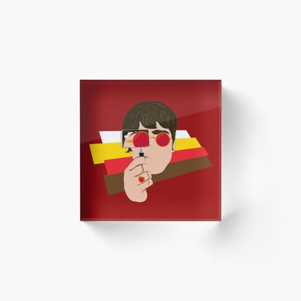 Noel Look Back In Anger Acrylic Block
