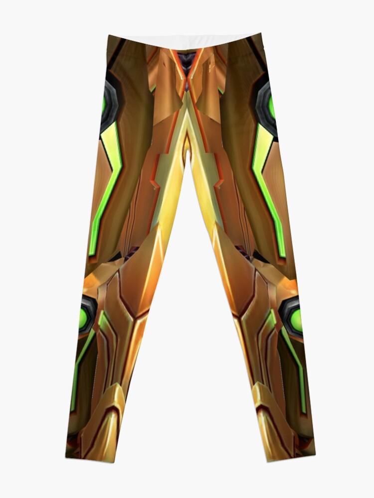 Alternate view of Samus Aran Suit Leggings Leggings