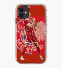 Robert Lewandowski von Bayern München und Polen iPhone-Hülle & Cover
