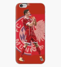 Robert Lewandowski of Bayern Munich and Poland iPhone Case