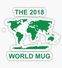 The 2018 World Mug Sticker