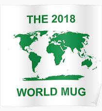 The 2018 World Mug Poster