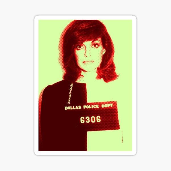 SUE-ELLEN MUG SHOT Sticker