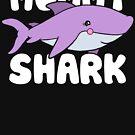 Nettes Mama-Haifisch-T-Shirt von BootsBoots