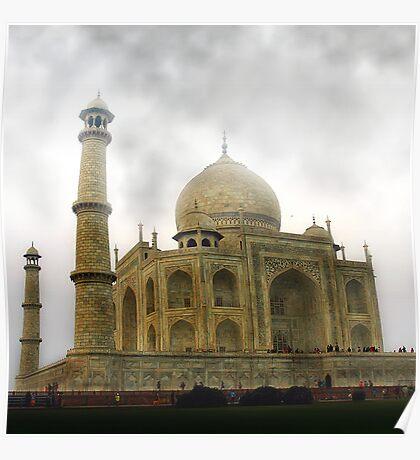 Taj Mahal-Seven Wonder of the World Poster
