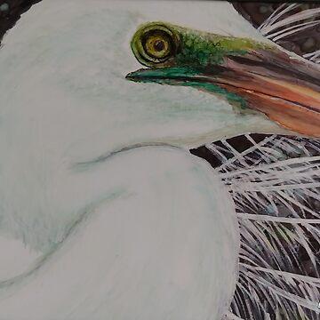 Egret by GlennArt