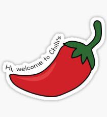 Hi, welcome to Chilli's Sticker