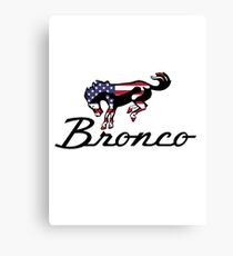 Ford Bronco Americana Canvas Print