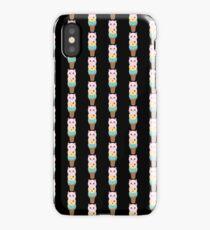 Cat Lover Meow Scream Ice Cream iPhone Case