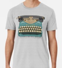 Camiseta premium para hombre Bloqueo de escritor