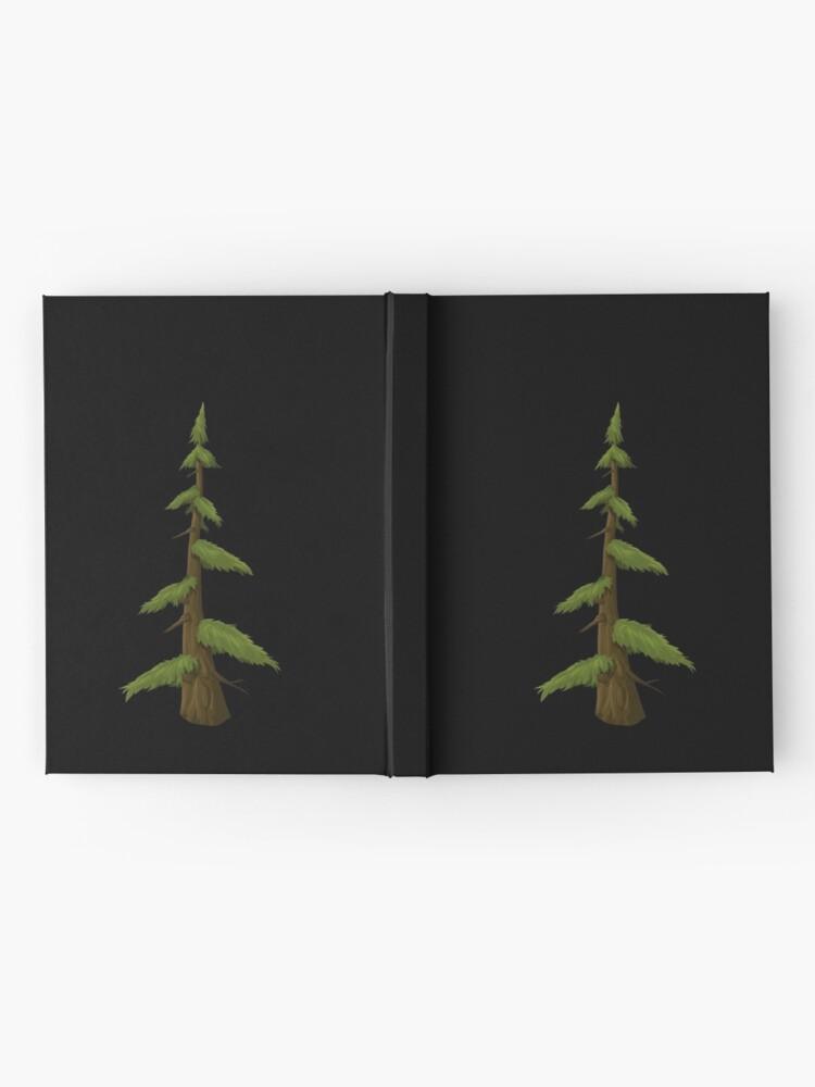 Alternative Ansicht von Holz Notizbuch