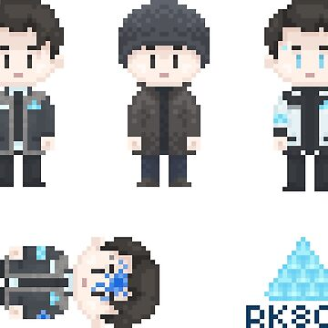 Connor Sprites by Jellyroll