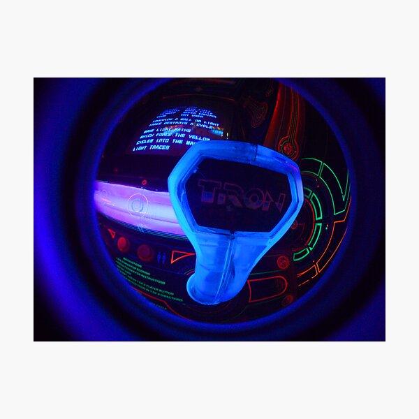Tron Arcade Photographic Print
