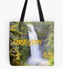 Salt Creek Falls Tote Bag