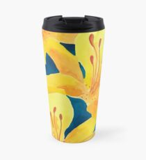 Tiger Lilies Travel Mug