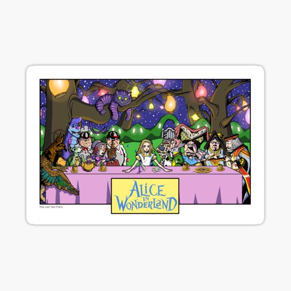 Alice in Wonderland - The Last Tea Party Sticker