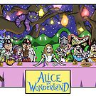 Alice in Wonderland - The Last Tea Party by dyertek