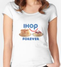 IHOP Forever Fitted Scoop T-Shirt