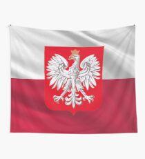 Weltmeisterschaft 2018 - Polen Flagge Wandbehang