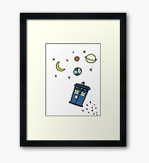 Little Tardis  Framed Print