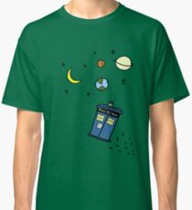 Little Tardis  Classic T-Shirt