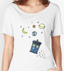 Little Tardis  Women's Relaxed Fit T-Shirt