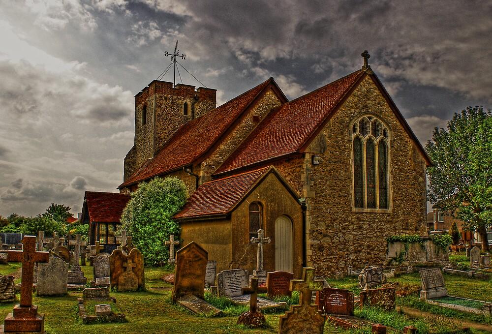 st  Adrews church by lurch
