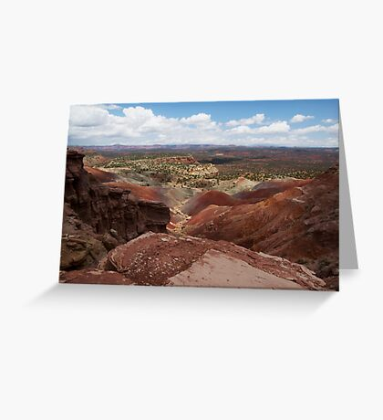 Long Canyon Overlook Greeting Card