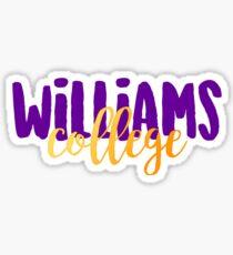 Williams College Sticker