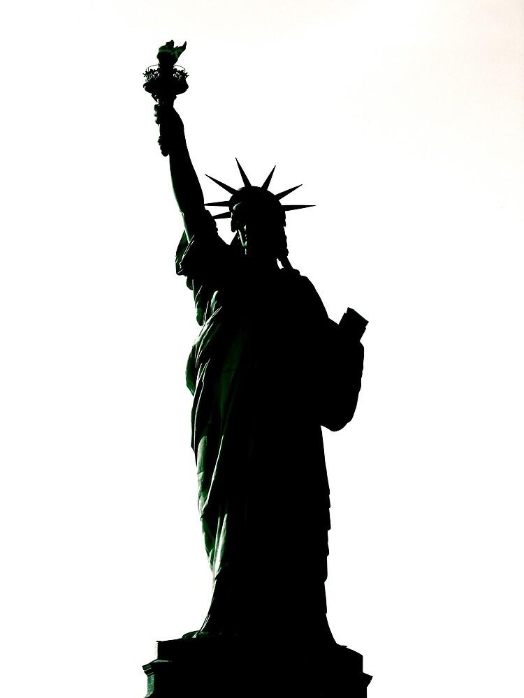 lady liberty  by bron stadheim
