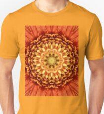 Beautiful flower center. T-Shirt